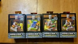 Minecraft Cave Biome Collection Toy 1 2 3 4 Piston Waterfall Doom Mountain $28.41