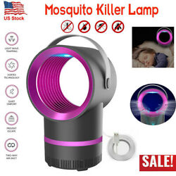 Electric Mosquito Killer Lamp Indoor Fly Bug Insect Zapper Trap LED Light Safe $11.99