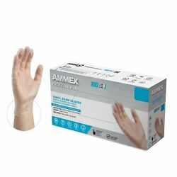 1000 cs AMMEX VPF Disposable Gloves Medical Vinyl Powder Free Non Nitrile $12.99
