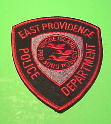 EAST PROVIDENCE RHODE ISLAND RI POLICE DEPT. PATCH FREE SHIPPING $7.00