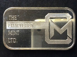 The Chartered Mint Commercial Silver Art Bar A2610 $97.00