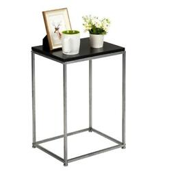 Side Table For Small Spaces Coffee Tray Sofa End Table Bedside Night Stand Home $23.95