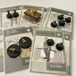 Axis and Allies Miniatures M13/40-Fucile_Brixia m35-stalwart-blackshirts Italy $14.00