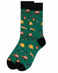 Men#x27;s Camping Novelty Socks $5.99
