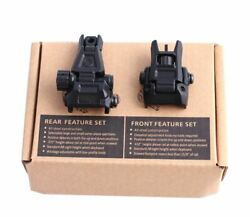 3rd generation Picatinny Rail Folding Front Rear Sight Flip Up Plastic Sight set $19.99