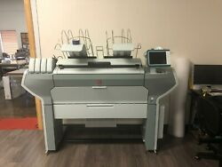 OCE COLORWAVE 500 PLOTTER PRINTER WIDEIMAGESOLUTIONS FINANCING 2 YEAR WARRANTY $5999.00