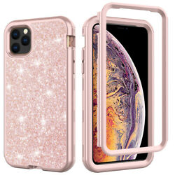 For iPhone 11 Pro Max XR 8 7 Plus Bling Glitter Girl Women Cute Phone Case Cover $9.59