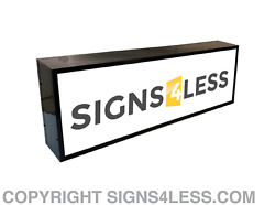OUTDOOR LED LIGHT BOX SIGN 48
