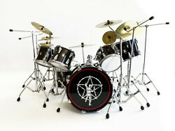 Mini Drum Kit Rush Neil Peart R30 Drum Set Replica - ONLY 6 AVAILABLE $69.99