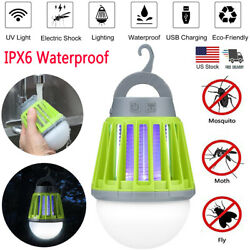 2 in 1 Mosquito Killer Lamp OutdoorIndoor Electric Insect Fly Bug Zapper Light $21.99