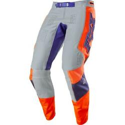 Fox 360 Linc Pants 34 Gray Orange $144.41