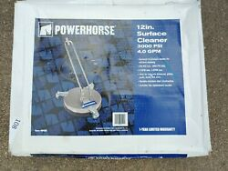 Powerhorse Pressure Washer Surface Cleaner — 12in. Dia. 3000 PSI 4.0 GPM $109.99