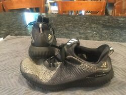 Mens Size 8.5 Adidas Alphabounce Shoes Gray amp; Black Adidas Shoes $24.99