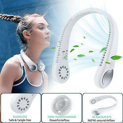 Hand Free Portable Personal Neck Fan Necklace Mini Air Conditioner Cooling Fan $34.95