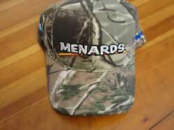 Camo Menards Home Improvement Store Embroidered baseball hat cap adjustable $10.00
