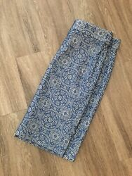 The Limited Blue Nude Lace Pencil Skirt Sz 12 $10.95