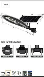 Commercial Solar Street Light 20000LM 6000K Outdoor Solar Powered Street Lamp w