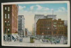South Warren St. from Veteran#x27;s Park Syracuse N.Y. used postcard about 1918 $3.95