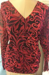 inc international concepts Blouse Sz 2X New Retail$59.00
