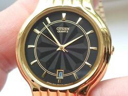 Citizen 3D Quartz Dress from January 1982 New Battery Boxed New Old Stock Rare GBP 65.00