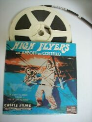 HIGH FLYERS; ABBOTT AND COSTELLO SUPER 8 SOUND FILM IN NEAT CASTLE FILMS BOX $26.95