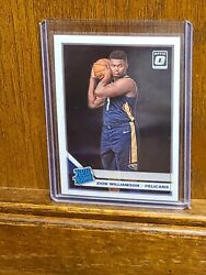 ZION WILLIAMSON 2019-20 DONRUSS OPTIC #158 RATED ROOKIE PELICANS RC  $58.00