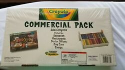 Crayola Commercial Pack 384 Crayons. Brand new in cellophane. 8 Colors