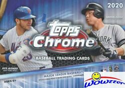 2020 Topps Chrome Baseball EXCLUSIVE Factory Sealed Blaster Box SEPIA REFRACTORS $49.95
