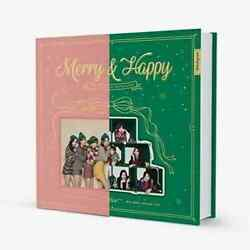 US SHIPPING Twice Merryamp;Happy 1st Repackage Album CDBookCardPostcard $22.00