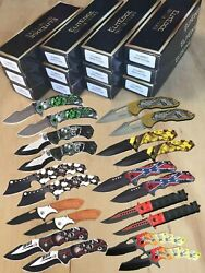 Wholesale Lot 20Pc Spring Assisted Open Tactical Pocket Folding Knife $79.99