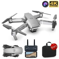 Mini Drone Wide Angle 4K WiFi FPV Cam Height Holding Mode RC Foldable Quadcopter $7.99