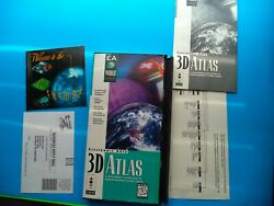 3D ATLAS FOR 3DO 100% COMPLETE AND DISC IS MINT $34.95