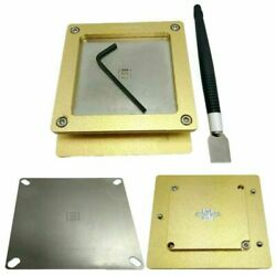 For Antminer Tin Tool S9 S9J Hash Board Repair Chip Plate Holder Tin Fixture Set $105.43