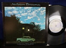 JACKSON BROWNE Late for the sky US VINYL LP NM 5=FREE POST $17.50