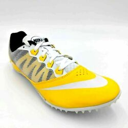 Nike Unisex Zoom Rival S 7 Track Shoes Yellow Spikes 616313 710 M 9 W 10.5 $29.99