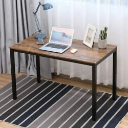Modern Simple Design Home Office Desk 47quot; L Computer Table Desktop Study Writing $88.33