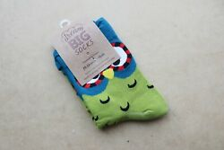 Dream Big Socks quot;Owl Face quot; One Size Fits Most BNWTS RRP $19.95 Gift AU $19.95