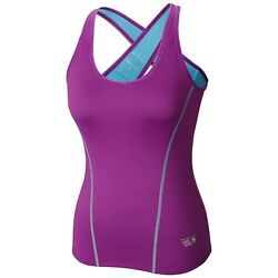 New Womens Mountain Hardwear quot;Mighty Power Coolerquot; Cool.Q ZERO Tank Top Tee $26.95