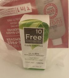 10 Free Chemistry Clean Nail Care Nail NRGY Bio Peptide Complex Full Size NIB $9.99
