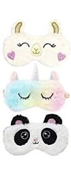 Plush Novelty Kids Adult Animal Sleep Mask $8.29