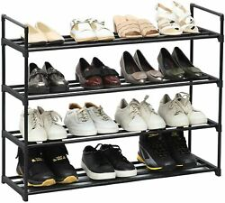 8Tier Metal Kitchen Tool Rack Shoe Rack Shelf Storage Organizer Holder Entryway $23.88