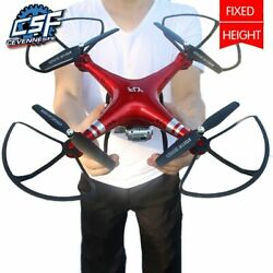 Red Professional RC Drone Quadcopter WiFi 720P HD FPV Camera Helicopter Large $79.99
