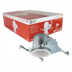 Commercial Recessed Lighting Housings 6 in. Sloped Ceiling White 6 Pack