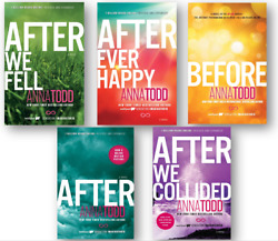 The Complete After Series Collection NEW 5 Paperback Books Set By Anna Todd $55.90