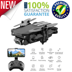 4K HD Camera Mini Drone Camera Quadcopter Wide Angle Camera Toys Gifts For Kids $73.73