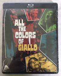 All The Colors Of Giallo New Blu ray 3 disc set Severin $27.99