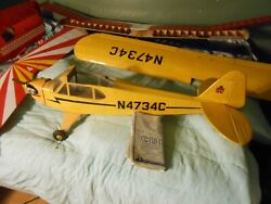 Built RC Plane Carl Goldberg Piper Cub Model 63 $200.00