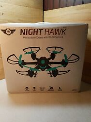 Sky Rider Night Hawk Hexacopter Drone w WiFi Camera Open Box $49.99