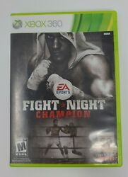 Fight Night: Champion for Xbox 360 2011 No Manual Rare sports game tested... $13.99