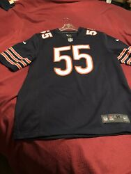Chicago Bears Lance Briggs #55 Nike Men#x27;s NFL Game Retired Player Jersey $50.00